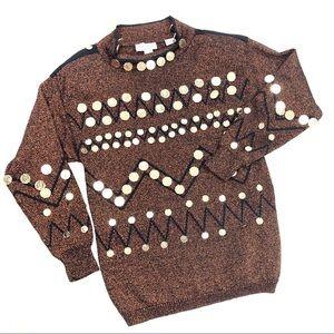 Vintage Bonnie Boerer | Queen Elizabeth Sweater